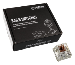 Przełączniki do klawiatury Glorious PC Gaming Race Kailh Speed Bronze Switches (120 szt.)