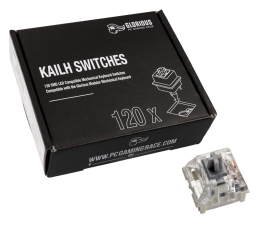 Przełączniki do klawiatury Glorious PC Gaming Race Kailh Speed Silver Switches (120 szt.)