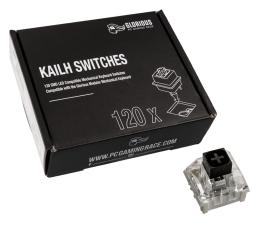 Przełączniki do klawiatury Glorious PC Gaming Race Kailh Box Black Switches (120 szt.)