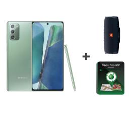 Smartfon / Telefon Samsung Galaxy Note 20 5G Zielony + JBL Charge 4 + Navitel