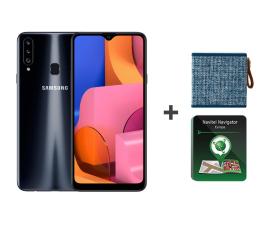 Smartfon / Telefon Samsung Galaxy A20s black + Rockbox + Navitel
