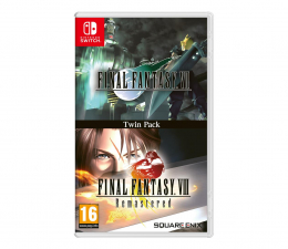 Gra na Switch Switch Final Fantasy VII + Final Fantasy VIII Remastered