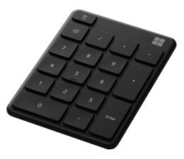 Klawiatura bezprzewodowa Microsoft Number Pad Black