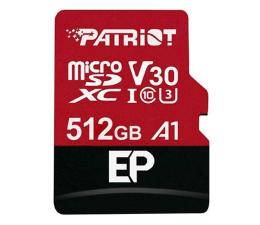 Karta pamięci microSD Patriot 512GB EP microSDXC 100/80MB (odczyt/zapis)