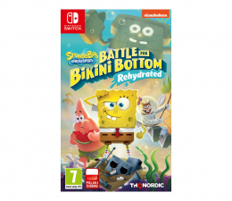Gra na Switch Switch SpongeBob: Battle for Bikini Bottom – Rehydrated