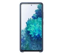Etui / obudowa na smartfona Samsung Silicone Cover do Galaxy S20 FE granatowe