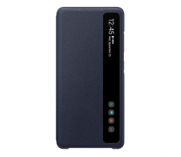 Etui / obudowa na smartfona Samsung Smart Clear View Cover do Galaxy S20FE granatowy