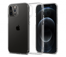 Etui / obudowa na smartfona Spigen Ultra Hybrid do iPhone 12 Pro MAX Crystal Clear