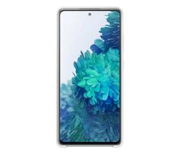 Etui / obudowa na smartfona Samsung Silicone Cover do Galaxy S20 FE białe