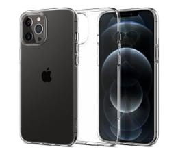 Etui / obudowa na smartfona Spigen Liquid Crystal do iPhone 12/12 Pro Clear