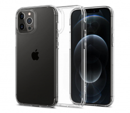 Etui / obudowa na smartfona Spigen Ultra Hybrid do iPhone 12/12 Pro Crystal Clear