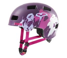 Ochraniacz/kask UVEX Kask Hlmt 4 cc purpurowy serca 55-58cm