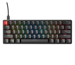 Klawiatura  przewodowa Glorious PC Gaming Race GMMK Compact Gateron Brown czarna