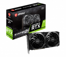 Karta graficzna NVIDIA MSI GeForce RTX 3070 Ventus 2X OC 8GB GDDR6