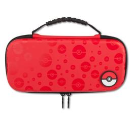 Obudowa/naklejka na konsolę PowerA SWITCH Etui na konsole Pokemon PokeBall Czerwone