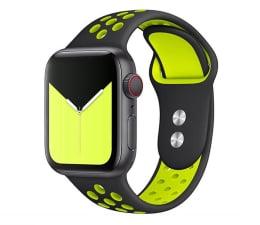 Pasek / bransoletka Tech-Protect Pasek Softband do Apple Watch black/lime