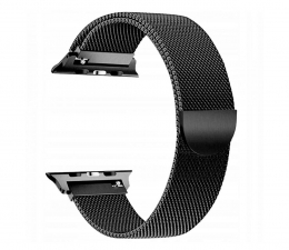Pasek / bransoletka Tech-Protect Bransoleta Milaneseband do Apple Watch black