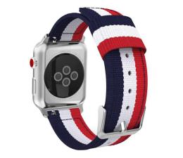 Pasek / bransoletka Tech-Protect Pasek Welling do Apple Watch navy/red