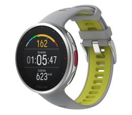 Zegarek sportowy Polar Vantage V2 szaro-limonkowy M/L