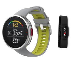 Zegarek sportowy Polar Vantage V2 H10 szaro-limonkowy M/L