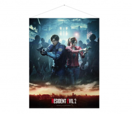 """Plakat z gier Gaya Plakat Resident Evil 2 """"Leon & Claire"""""""