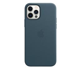 Etui / obudowa na smartfona Apple Skórzane etui iPhone 12|12Pro bałtycki błękit