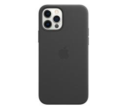 Etui / obudowa na smartfona Apple Skórzane etui iPhone 12|12Pro czarne
