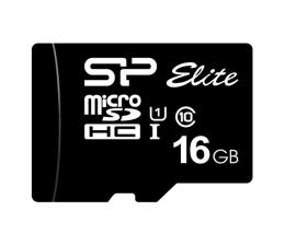 Karta pamięci microSD Silicon Power 16GB microSDHC Elite 85MB/s C10 UHS-I U1