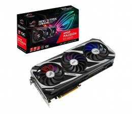 Karta graficzna AMD ASUS Radeon RX 6800 ROG Strix OC 16GB GDDR6