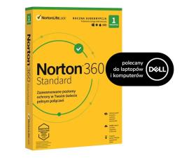 Program antywirusowy NortonLifeLock 360 Standard 1st. (12m) do desktopa/laptopa Dell