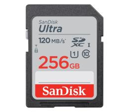 Karta pamięci SD SanDisk 256GB SDXC Ultra 120MB/s C10 UHS-I