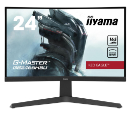 "Monitor LED 24"" iiyama G-Master GB2466HSU Red Eagle Curved"