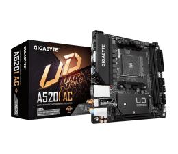 Płyta główna Socket AM4 Gigabyte A520I AC