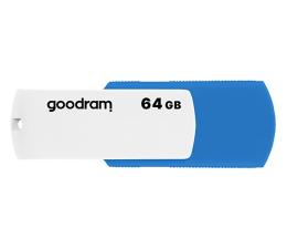 Pendrive (pamięć USB) GOODRAM 64GB UCO2 odczyt 20MB/s USB 2.0 niebiesko-biały