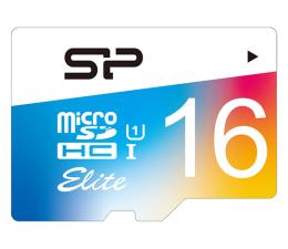 Karta pamięci microSD Silicon Power 16GB microSDHC Elite Colorful 85MB/s C10 UHS-I U1