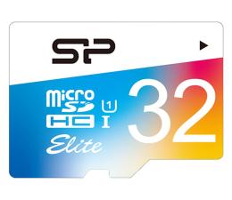 Karta pamięci microSD Silicon Power 32GB microSDHC Elite Colorful 85MB/s C10 UHS-I U1