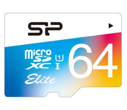 Karta pamięci microSD Silicon Power 64GB microSDXC Elite Colorful 85MB/s C10 UHS-I U1
