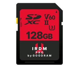 Karta pamięci SD GOODRAM 128GB SDXC IRDM PRO 265MB/s UHS-II U3 V60