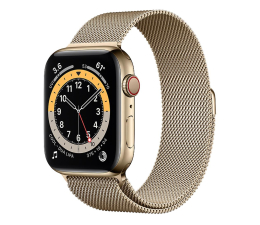 Smartwatch LTE Apple Watch 6 44/Gold Steel/Gold Loop LTE