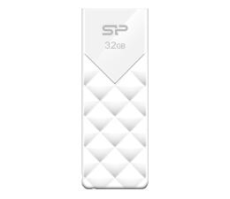 Pendrive (pamięć USB) Silicon Power 32GB Blaze B03 USB 3.2 biały
