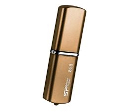 Pendrive (pamięć USB) Silicon Power 8GB LuxMini 720 USB 2.0 brązowy