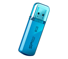 Pendrive (pamięć USB) Silicon Power 8GB Helios 101 USB 2.0 niebieski