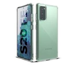 Etui / obudowa na smartfona Ringke Fusion do Galaxy S20 FE Fan Edition Clear