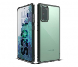 Etui / obudowa na smartfona Ringke Fusion do Galaxy S20 FE Fan Edition Smoke Black