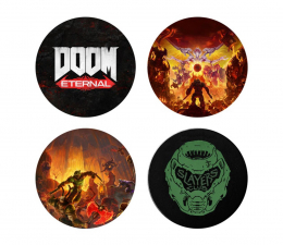 "Podkładka z gier Gaya Podkładka Doom Eternal ""Slayers Club"""