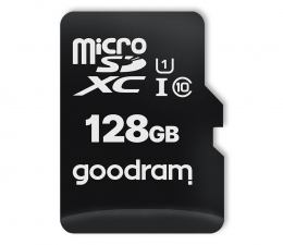 Karta pamięci microSD GOODRAM 128GB microSDXC 100MB/s C10 UHS-I U1