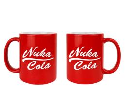 "Kubek / pojemnik z gier KochMedia Kubek Fallout ""Nuka Cola"" Red"