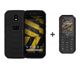 Smartfon / Telefon Cat S42 czarny + B26 Dual SIM czarny
