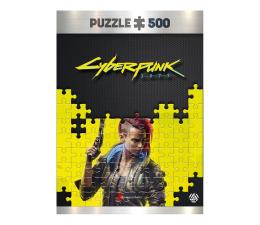 Puzzle z gier CENEGA Cyberpunk 2077: Keyart Female V puzzles 500