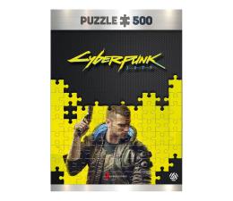 Puzzle z gier CENEGA Cyberpunk 2077: Keyart Male V puzzles 500